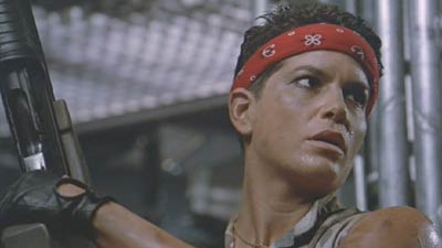In Aliens, the character of
