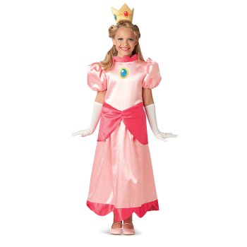 Super Mario Deluxe Princess Peach ...  sc 1 st  Only Good Movies & Halloween Costumes for Kids - Movie Costumes for Children