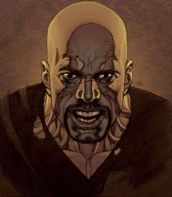 Comic Book Bad Ass Luke Cage