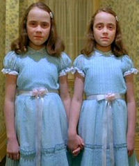 Creepy Grady Twins Kids