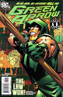 Green Arrow Comic Movie