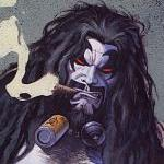 Lobo Comic Book Badass