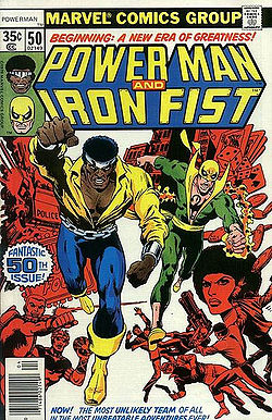 Power Man and Iron Fist Comic Movie